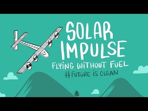 Solar Impulse & Cartoonbase: Flying without fuel