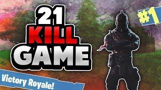 Fortnite - Sjukt nice game med subs på Squad! :D (21K)