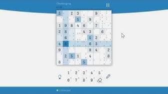 Sudoku Zenkai - Challenging - Co-op in 2min 54s 944ms