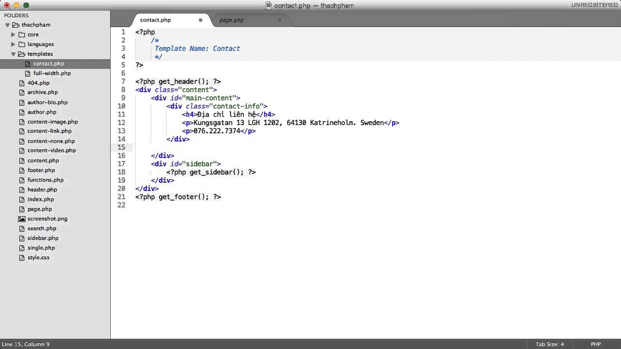 [Lập trình theme WordPress - 13] Tạo custom page template
