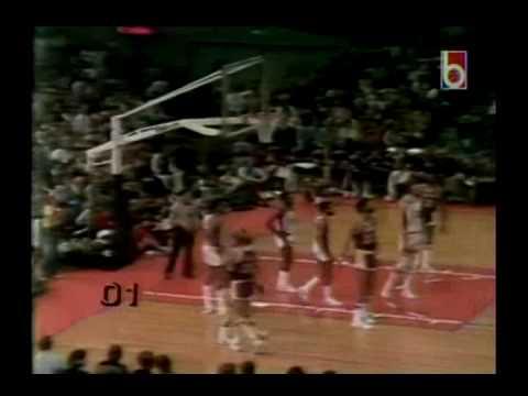 1977 NBA Playoffs: Portland Blazers vs. LA Lakers (4th Quarter)