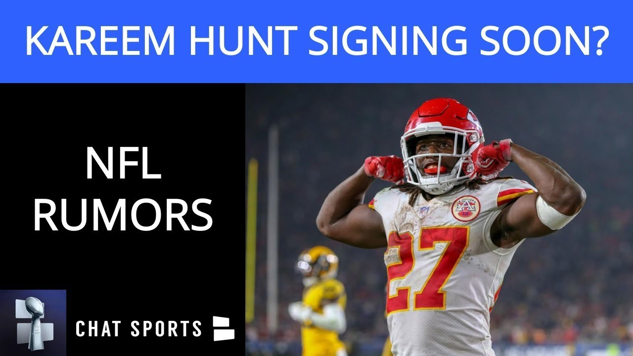 low priced 2e663 15263 NFL Rumors: Kareem Hunt Returning, Eagles Hate Carson Wentz & Love Nick  Foles, Todd Gurley Injury