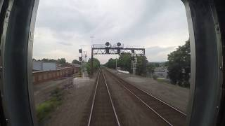 NS Pittsburgh Line - Latrobe to Greensburg Rear View (Go Pro)
