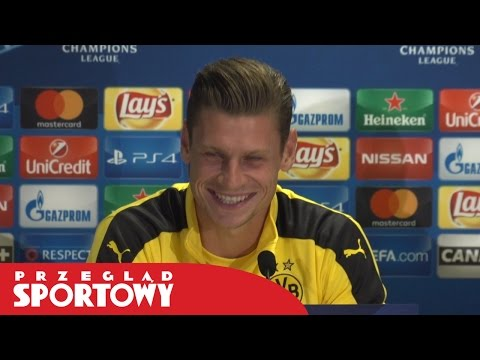 Łukasz Piszczek przed meczem Legia - Borussia Dortmund
