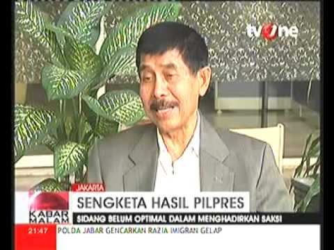 Yunus Yosfiah Ketua Tim Pemenangan Prabowo Hatta