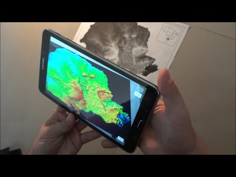 Augmented Reality & Maps - The Landscape of Paraná State - Brazil