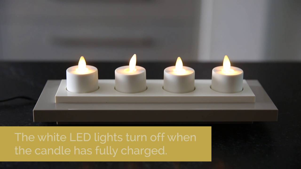 Using Your Rechargeable Luminara Tea Lights