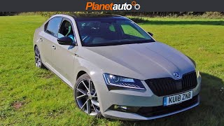 Skoda Superb 2018 DSG 4x4 Sportline Micro Review & Road Test 280PS