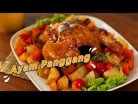 Resepi Ayam Panggang ala Kenny Rogers Tanpa Oven   iCookAsia