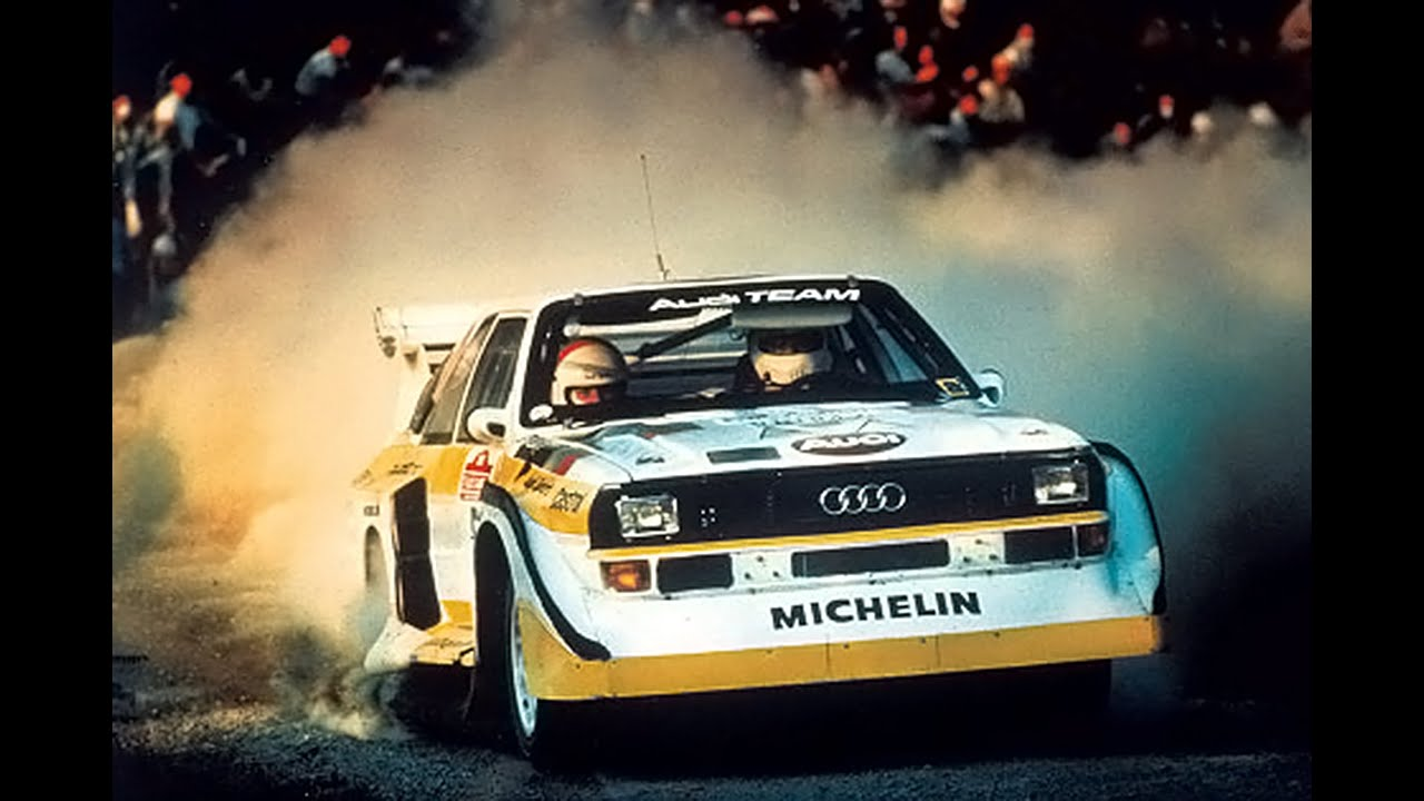 Audi Sport quattro S1 / E2 Rally Group B Shrine