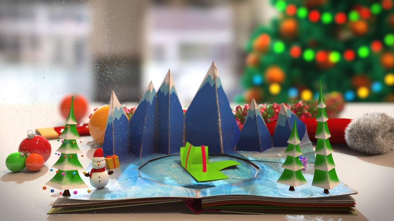 [Motion Graphic] Ngành Đồ Họa – TTTH ĐH KHTN chúc mừng Giáng sinh & Năm mới.