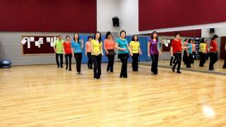 2-Way Kiss - Line Dance (Dance & Teach in English & 中文)