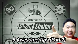 Fallout Shelter - Another 5 Awesome Tips Part 2
