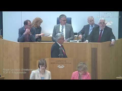 34. Landtagssitzung Rheinland-Pfalz vom 31.05.2017 komplett