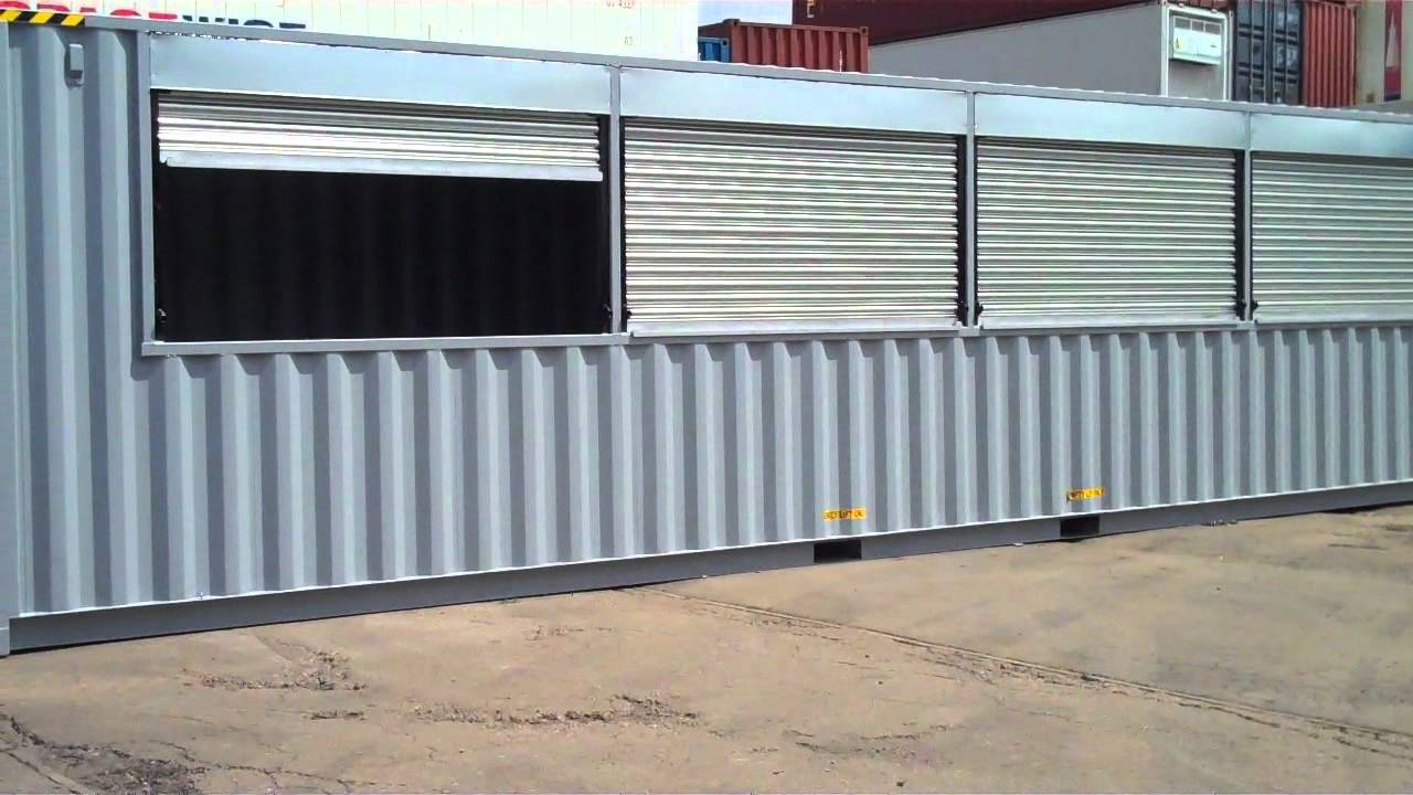 40ft Shipping Container >> Mobile Bar - 40ft high cube shipping container - www ...