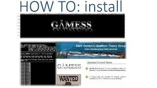 GAMESS-US installation for windows