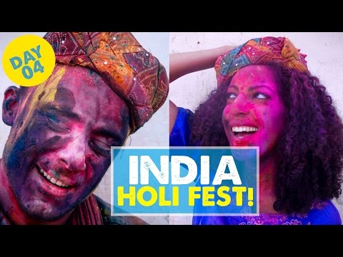 HOLI FESTIVAL IN INDIA! Day 4 | India Vlog 04