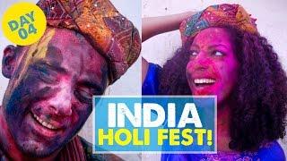HOLI FESTIVAL IN INDIA! Day 4 | India Vlog 04
