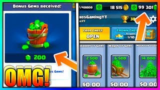 FASTEST WAY Of Getting FREE GEMS And LEGENDARIES In Clash Royale!