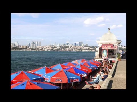 Istanbul :  The Bosphorus Strait------------Turkey, 2015