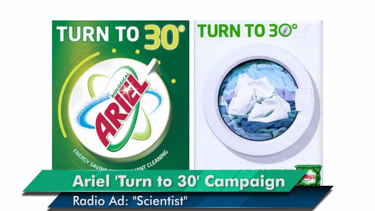 Ariel 'Do a Good Turn' Campaign: