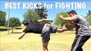 The Best Kick to Win the Street Fight!