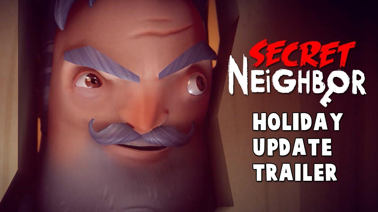 Secret Neighbor - Christmas Update Trailer - YouTube