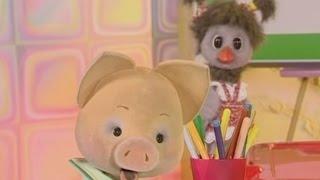 Учим английский язык вместе с Хрюшей - урок 37 - Обучающая программа для малышей