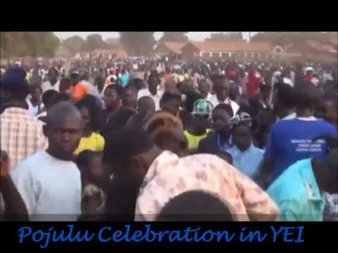 Pojulu Celebration of New Year in Yei South Sudan