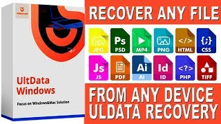 Recover Deleted Files Easily | Tenorshare Ultdata Windows Data Recovery