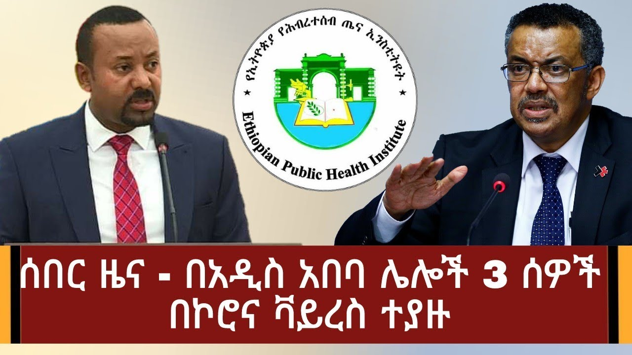 Ethiopian health institute press statement on corona