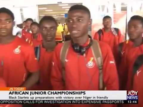 African Junior Championships - Sports Today on Joy News (18-4-17)