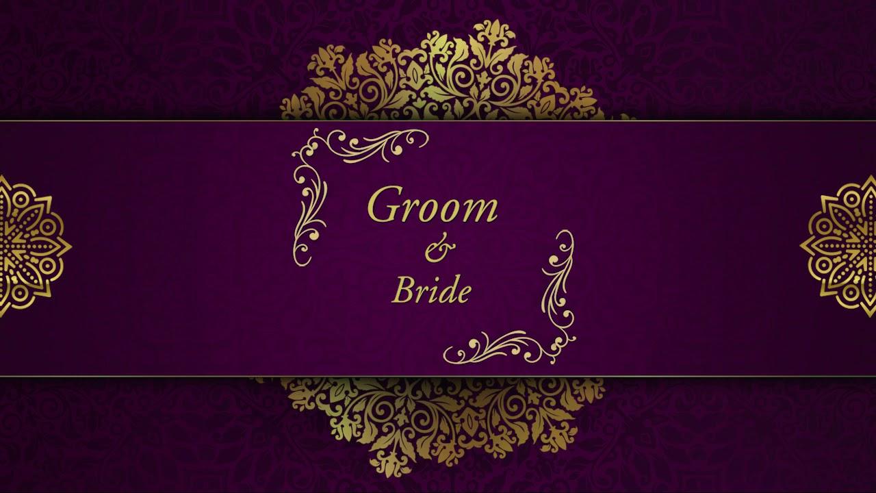 wedding invitation video free wedding invitation video 01 free blank