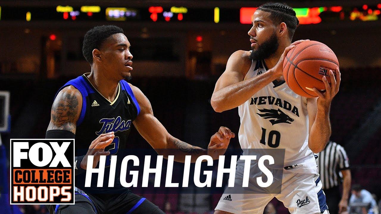 Nevada vs  Tulsa | FOX COLLEGE HOOPS HIGHLIGHTS