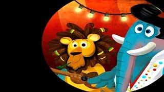 Мультик про Цирковых Животных - Мультфильмы для самых маленьких детей. Cartoon for Kids