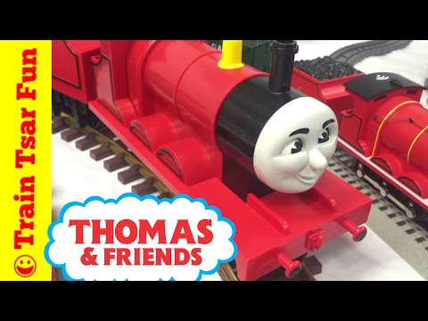 My JAMES THE RED ENGINE TRAIN COLLECTION THOMAS & FRIENDS