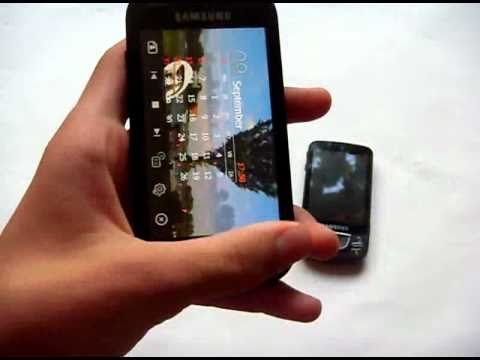 Samsung i8000 Omnia II demo