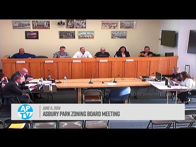 Asbury Park Zoning Board Meeting - June 11, 2019