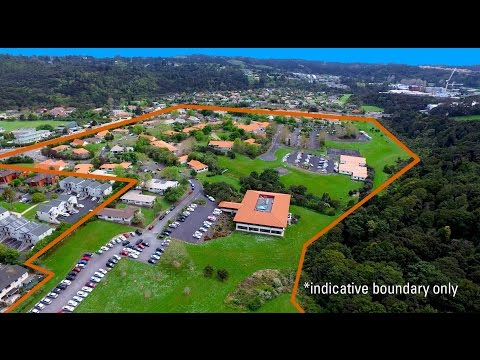 Auckland campus flyover | Massey University