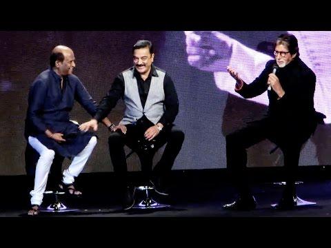 Rare Moment: Legends Amitabh Bachchan, Kamal Haasan, Rajinikanth Talk About Ilaiyaraaja