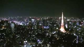 Tokyo Skyline in Day&Night at 270Meters High