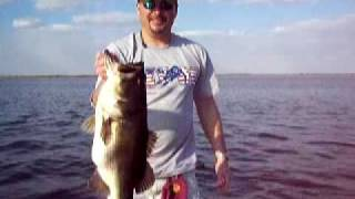 Kissimmee Lake Bass Fishing near Orlando, Florida.... 9lb Largemouth