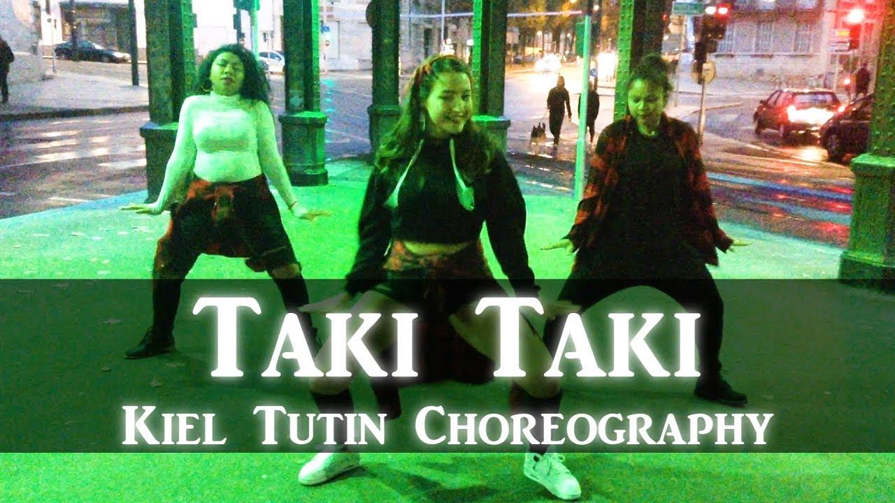 Lisa X Kiel Tutin Choreography Taki Taki Dance Cover Trio Version