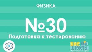 Онлайн-урок ЗНО. Физика №30. Подготовка к тестированию. Разбор пробного ЗНО 2016