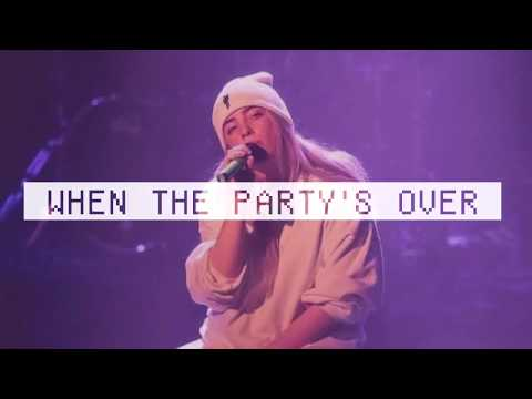Billie Eilish - When The Party's Over (1 Hour Music)
