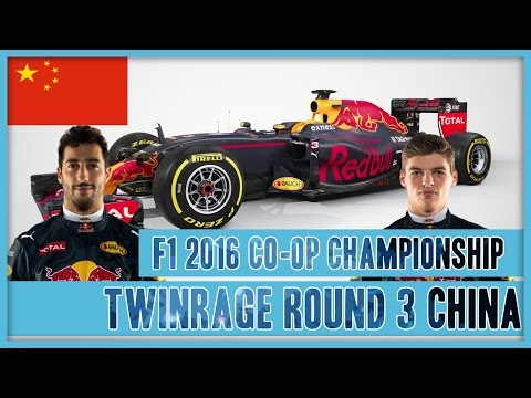 TwinRaGe Youtube Co-op Championship F1 2016 - Round 3 China