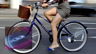 How pedal power could charge your phone - BBC Click