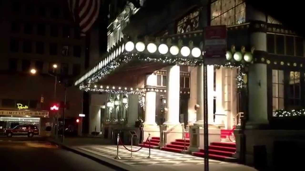 Christmas In New York City Plaza Hotel Central Park Th Avenue Youtube
