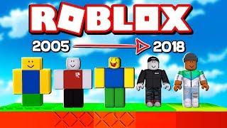 ROBLOX 2005-2018 EVOLUTION OBBY