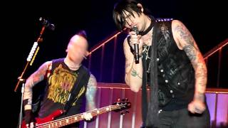 "Hinder ""Use Me"" 02-15-2011 Verizon Wireless Center Mankato Minnesota"